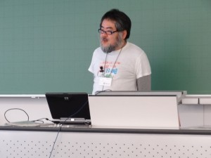 Masahisa Kamataki talks about cloud services that support ODF.